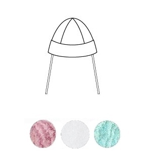 Baby cap 100% pure silk by Alkena