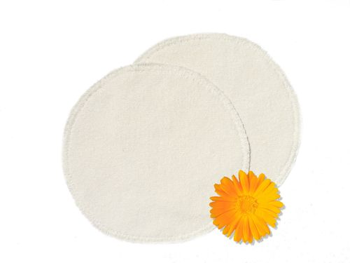 Curative nappy inlay coarse silk 100% silk